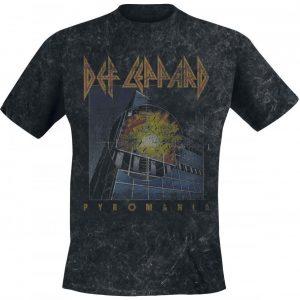Def Leppard Vintage Pyromania T-paita