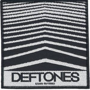 Deftones Abstract Lines Kangasmerkki Musta-Valkoinen