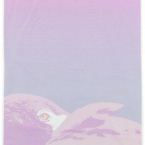 Deftones Flamingo Seinälippu Lila-Pinkki