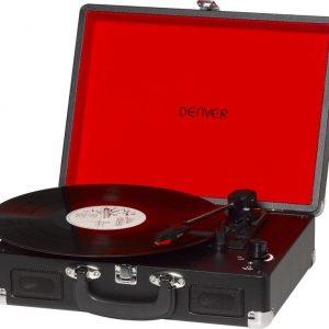 Denver VPL-120 Portable Turntable Black