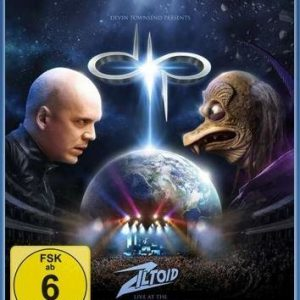 Devin Townsend Project Devin Townsend Presents: Ziltoid Live At The Royal Albert Hall Blu-Ray