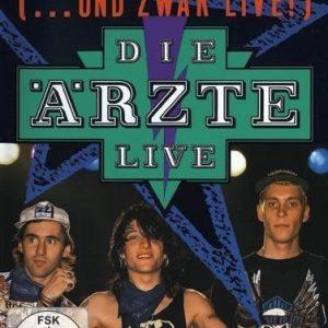 Die Ärzte Die Beste Band Der Welt (... Und Zwar Live!) DVD