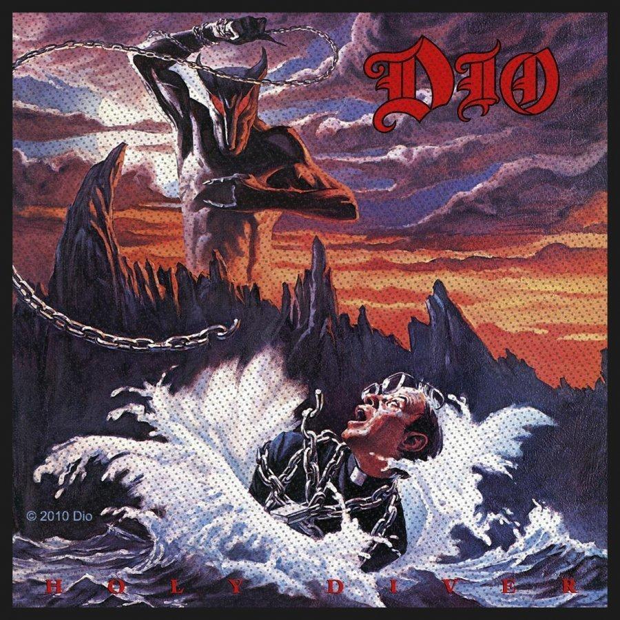 Dio Holy Diver Kangasmerkki 100% Polyesteria