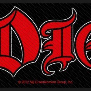 Dio Logo Kangasmerkki 100% Polyesteria