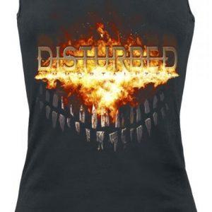 Disturbed Fiery Grin Naisten Toppi