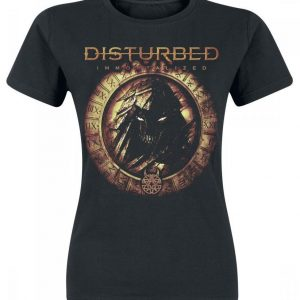 Disturbed Immortalized Naisten T-paita