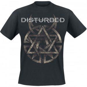 Disturbed Symbol T-paita