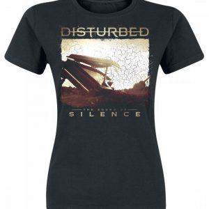 Disturbed The Sound Of Silence Naisten T-paita