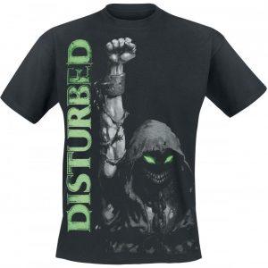 Disturbed Up Your Fist Glow T-paita