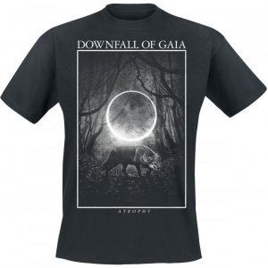 Downfall Of Gaia Atrophy T-paita