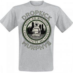 Dropkick Murphys Nave Ad Boston T-paita