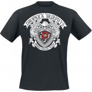 Dropkick Murphys Signed And Sealed In Blood T-paita