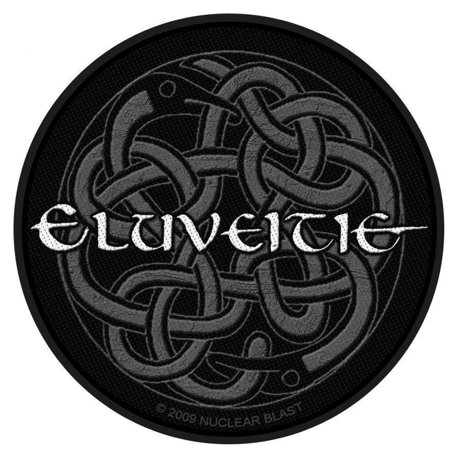Eluveitie Logo Kangasmerkki 100% Polyesteria