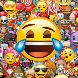 Emoji Collage Juliste