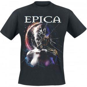 Epica Robot Face T-paita
