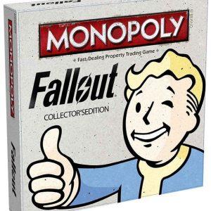 Fallout Monopoly Lautapeli