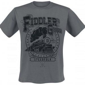 Fiddler's Green Speed Folk T-paita