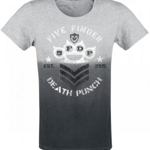 Five Finger Death Punch Brass Knuckles Chevron T-paita