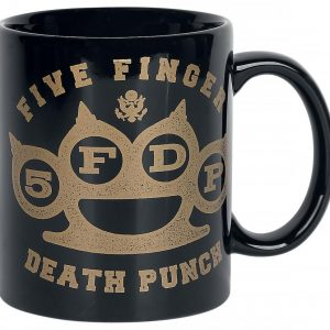 Five Finger Death Punch Brass Knuckles Espresso-Tasse Five Finger Death Punch