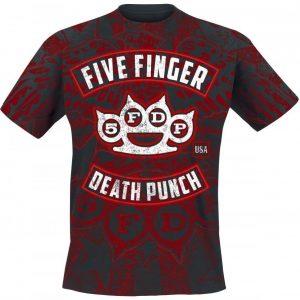 Five Finger Death Punch Eagle Burst T-paita