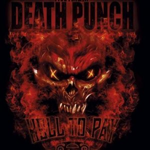 Five Finger Death Punch Hell To Pay Seinälippu 100% Polyesteria
