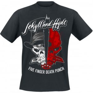 Five Finger Death Punch Jekyll And Hyde T-paita
