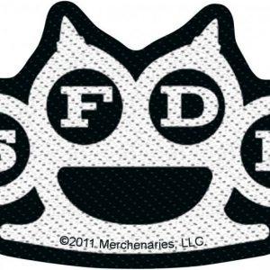 Five Finger Death Punch Knuckles Kangasmerkki 100% Polyesteria