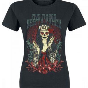 Five Finger Death Punch Lady Muerta Naisten T-paita