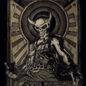 Five Finger Death Punch Mercenary Seinälippu 100% Polyesteria
