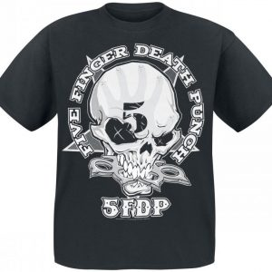 Five Finger Death Punch One Two Fuck You T-paita