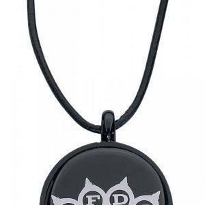 Five Finger Death Punch White Logo Riipus