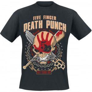Five Finger Death Punch Zombie Killer T-paita