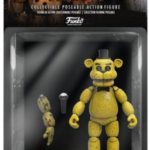 Five Nights At Freddy's Gold Freddy Keräilyfiguuri