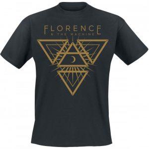 Florence & The Machine 3 Point Moon T-paita