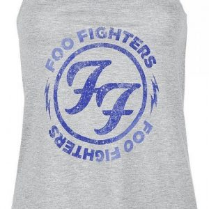 Foo Fighters Logo Blue Circle Toppi