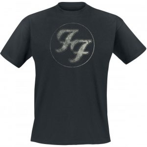 Foo Fighters Logo In Circle T-paita