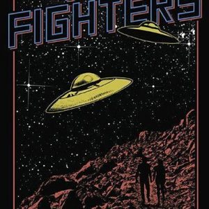 Foo Fighters Ufos Juliste