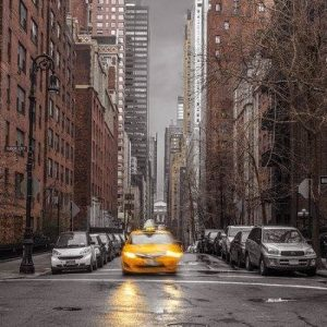 Frank Assaf New York Taxi Juliste