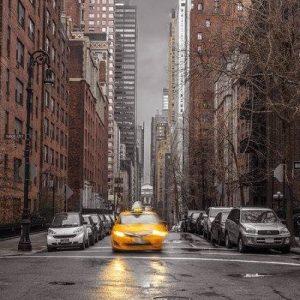 Frank Assaf New York Taxi Juliste