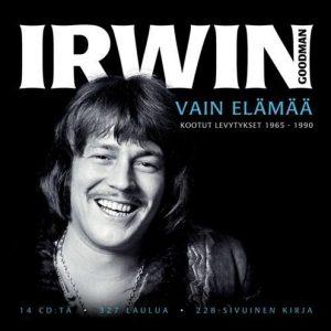 Goodman Irwin - Vain elämää - kootut levytykset 1965 - 1990 (14CD + Kirja)