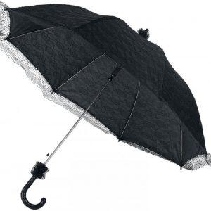 Gothicana By Emp Dark Umbrella Päivänvarjo