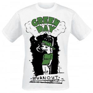 Green Day Burnout T-paita