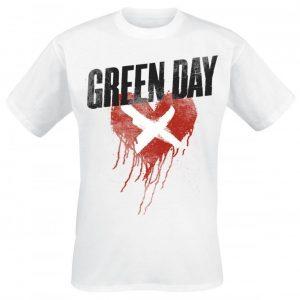 Green Day Cross My Heart T-paita