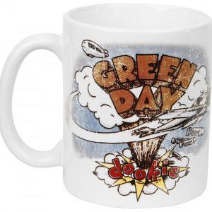 Green Day Dookie Muki Valkoinen