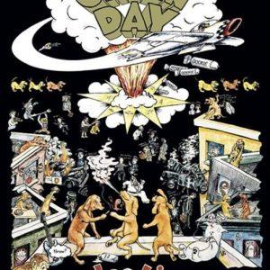 Green Day Dookie Seinälippu 100% Polyesteria