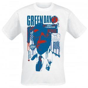 Green Day Revolution Radio Patriot Witness T-paita