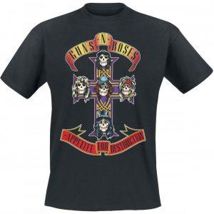 Guns N' Roses Appetite For Destruction Cover T-paita