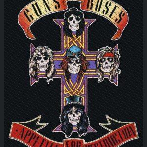 Guns N' Roses Appetite Kangasmerkki 100% Polyesteria