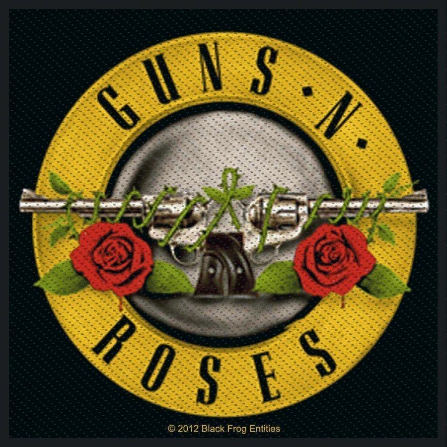 Guns N' Roses Bullet Logo Kangasmerkki 100% Polyesteria