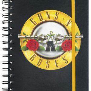 Guns N' Roses Bullet Logo Muistivihko Paperia